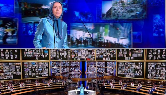 گردهمایی جهانی ایران آزاد در همبستگی با قیام مردم ایران